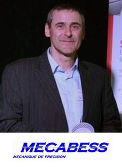 jean-michel sanchez lors de l'inauguration SUPCHAD