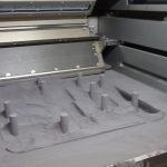 une fabrication via fusion laser sur lit de poudre slm